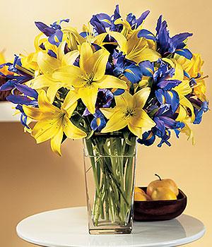Kırklareli ucuz çiçek gönder  Lilyum ve mevsim  çiçegi özel