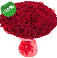 Özel mi Özel buket 101 adet kırmızı gül  Kırklareli ucuz çiçek gönder