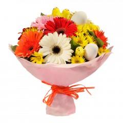 Karışık mevsim buketi Mevsimsel çiçek  Kırklareli İnternetten çiçek siparişi