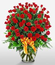 Görsel vazo içerisinde 101 adet gül  Kırklareli çiçek gönderme