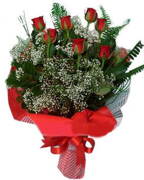 7 kırmızı gül buketi  Kırklareli çiçek siparişi sitesi