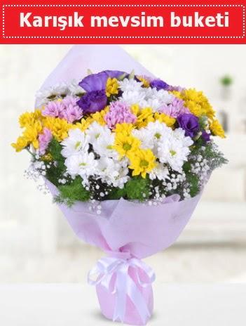 Karışık Kır Çiçeği Buketi  Kırklareli internetten çiçek siparişi
