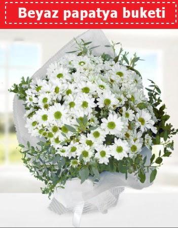 Beyaz Papatya Buketi  Kırklareli çiçek , çiçekçi , çiçekçilik