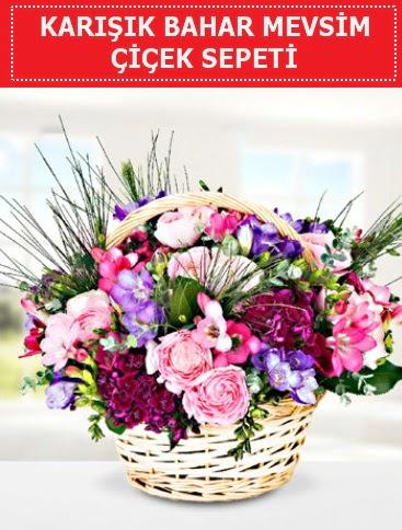 Karışık mevsim bahar çiçekleri  Kırklareli çiçek mağazası , çiçekçi adresleri