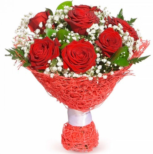 7 adet kırmızı gül buketi  Kırklareli çiçek yolla , çiçek gönder , çiçekçi