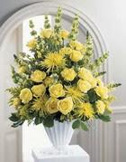 Kırklareli yurtiçi ve yurtdışı çiçek siparişi  sari güllerden sebboy tanzim çiçek siparisi