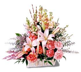 Kırklareli yurtiçi ve yurtdışı çiçek siparişi  mevsim çiçekleri sepeti özel tanzim