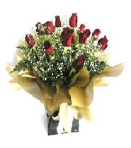 Kırklareli İnternetten çiçek siparişi  11 adet kirmizi gül  buketi
