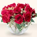 Kırklareli çiçekçi mağazası  mika yada cam içerisinde 10 gül - sevenler için ideal seçim -