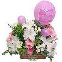 balon ve çiçeklerle tanzim  Kırklareli online çiçekçi , çiçek siparişi