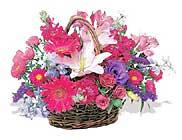 küçük karisik özel sepet   Kırklareli çiçekçi mağazası