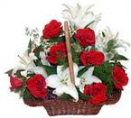 sepette gül ve kazablankalar   Kırklareli güvenli kaliteli hızlı çiçek