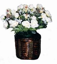 yapay karisik çiçek sepeti   Kırklareli çiçek gönderme