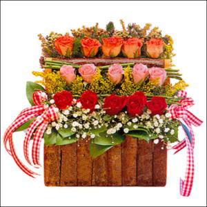 sandikta 3 kat güllerden   Kırklareli çiçekçi telefonları