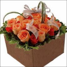 kare sandikta 11 gülllerden   Kırklareli güvenli kaliteli hızlı çiçek