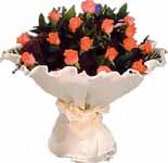 11 adet gonca gül buket   Kırklareli uluslararası çiçek gönderme
