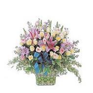 sepette kazablanka ve güller   Kırklareli anneler günü çiçek yolla