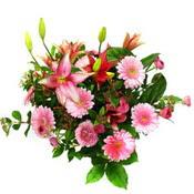 lilyum ve gerbera çiçekleri - çiçek seçimi -  Kırklareli anneler günü çiçek yolla