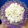 71 adet beyaz gül buketi   Kırklareli çiçek servisi , çiçekçi adresleri