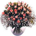 büyük cam fanusta güller   Kırklareli 14 şubat sevgililer günü çiçek