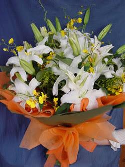 Kırklareli online çiçekçi , çiçek siparişi  5 ADET KAZABLANKA BUKETI KALITEDEN SASMAYANLARA