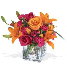 Kırklareli internetten çiçek satışı  cam içerisinde kir çiçekleri demeti