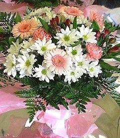 Kırklareli kaliteli taze ve ucuz çiçekler  karma büyük ve gösterisli mevsim demeti