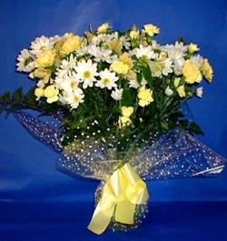 Kırklareli kaliteli taze ve ucuz çiçekler  sade mevsim demeti buketi sade ve özel