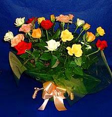 Kırklareli kaliteli taze ve ucuz çiçekler  13 adet karisik renkli güller