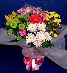 Kırklareli kaliteli taze ve ucuz çiçekler  küçük karisik mevsim demeti