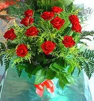 12 adet gül buketi  Kırklareli ucuz çiçek gönder