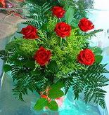 6 adet kirmizi gül buketi   Kırklareli çiçek yolla