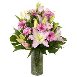 vazo içerisinde karisik mevsim çiçekleri  Kırklareli İnternetten çiçek siparişi