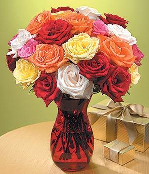 Kırklareli ucuz çiçek gönder  13 adet renkli gül