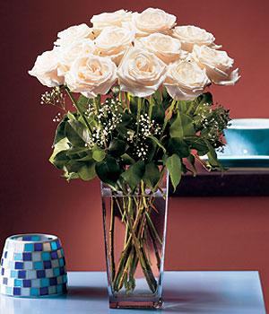 Kırklareli hediye çiçek yolla  Cam yada mika vazo içerisinde 12 gül