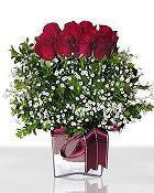 Kırklareli çiçek servisi , çiçekçi adresleri  11 adet gül mika yada cam - anneler günü seçimi -