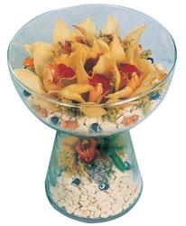 Kırklareli yurtiçi ve yurtdışı çiçek siparişi  Cam içerisinde 4 adet kandil orkide