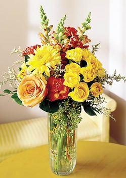 Kırklareli çiçek , çiçekçi , çiçekçilik  mika yada cam içerisinde karisik mevsim çiçekleri