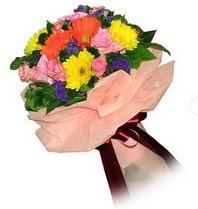 Kırklareli güvenli kaliteli hızlı çiçek  Karisik mevsim çiçeklerinden demet