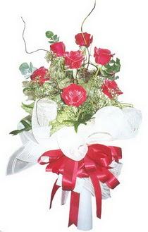 Kırklareli yurtiçi ve yurtdışı çiçek siparişi  7 adet kirmizi gül buketi