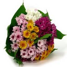 Kırklareli hediye sevgilime hediye çiçek  Karisik kir çiçekleri demeti herkeze