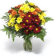 Kırklareli yurtiçi ve yurtdışı çiçek siparişi  Karisik çiçeklerden mevsim vazosu