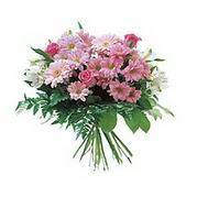 karisik kir çiçek demeti  Kırklareli çiçek online çiçek siparişi