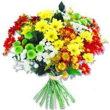 Kir çiçeklerinden buket modeli  Kırklareli çiçek yolla