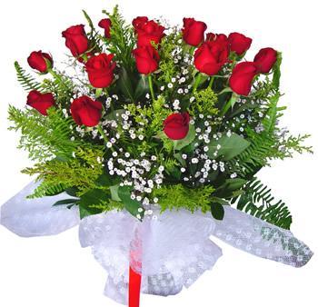 11 adet gösterisli kirmizi gül buketi  Kırklareli online çiçekçi , çiçek siparişi