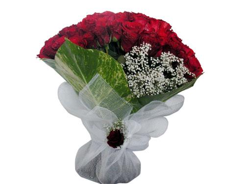 25 adet kirmizi gül görsel çiçek modeli  Kırklareli çiçek siparişi sitesi