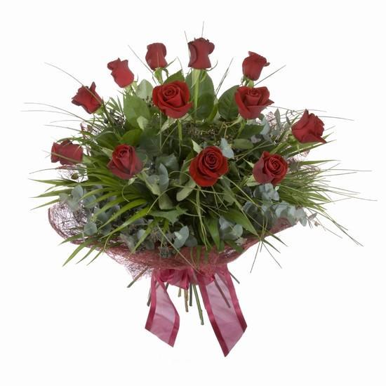 Etkileyici buket 11 adet kirmizi gül buketi  Kırklareli online çiçekçi , çiçek siparişi
