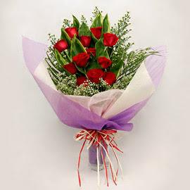 çiçekçi dükkanindan 11 adet gül buket  Kırklareli güvenli kaliteli hızlı çiçek