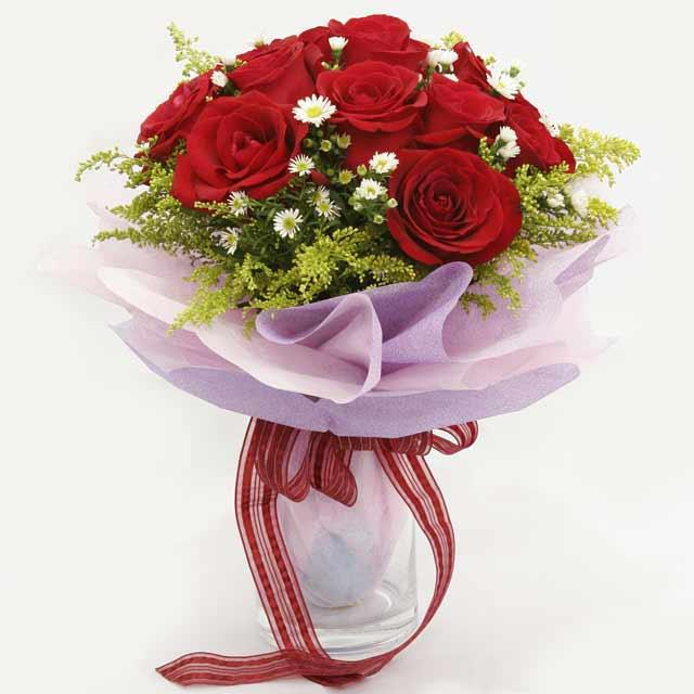Çiçek gönderme estetikliginiz 11 gül buket  Kırklareli güvenli kaliteli hızlı çiçek