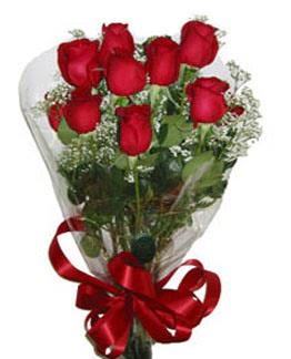 Çiçek sade gül buketi 7 güllü buket  Kırklareli çiçek yolla